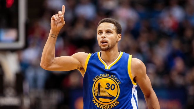 Stephen Curry and the Golden State Warriors remain the top team in the NBA.