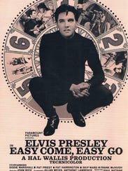 An Elvis promotional poster.