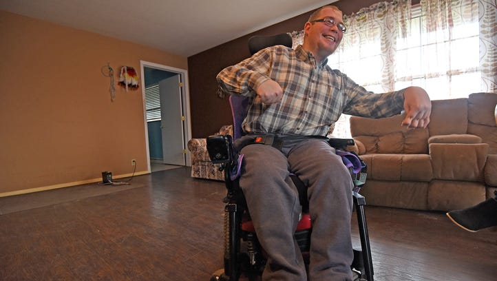 Physically disabled man makes history by becoming board member