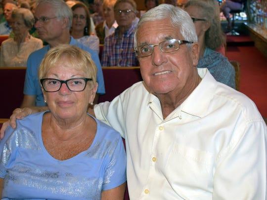 Josephine and David Saunders