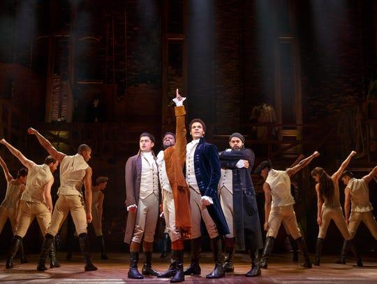 """Musical phenomenon """"Hamilton"""" is set to make it's Des"""