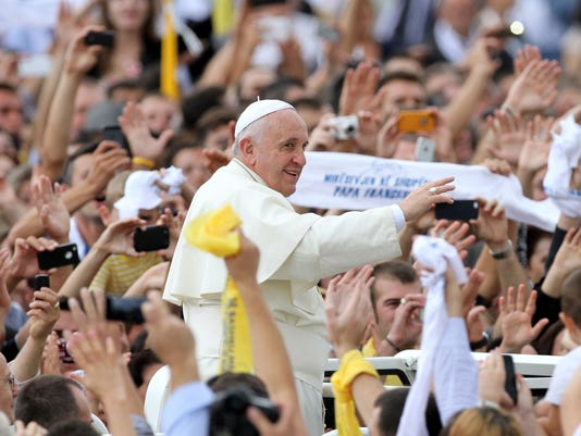 Pope Francis denounces perversion of religion