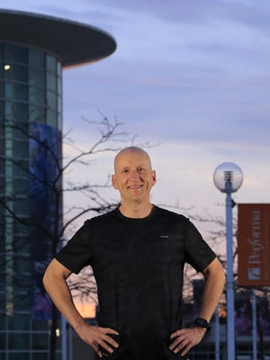 Terry Charles, corporate communications manager for PMI Entertainment Group, runs three mornings a week no matter what. He doesn't give himself a free pass if he's worked late the night before with a concert at the Resch Center.