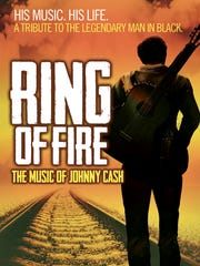 """""""Ring of Fire,"""" inspired by the life and music of Johnny Cash, opens Oct 25 at the RiversideTheatre."""