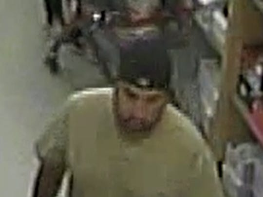 Police are asking for help in identifying a man who allegedly exposed his genitals to a child in March at the Fallas Paredes store in Fox Plaza, 5559 Alameda.