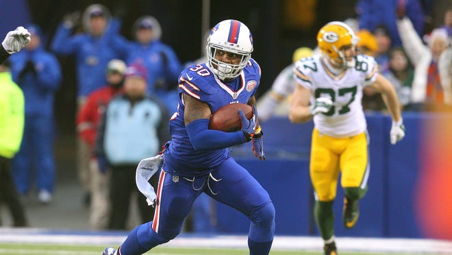 Bills safety Bacarri Rambo has filled in admirably for injured Aaron Williams.