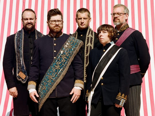 The Decemberists will perform at New York City's Beacon Theatre on April 6 and at the Academy of Music in Philadelphia on April 7.