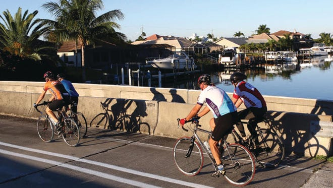 Cape Coral and Naples recently earned a bronze Bike Friendly Community designation.