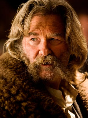 "Kurt Russell in a scene from ""The Hateful Eight."""