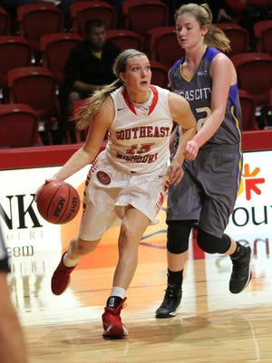 Westview grad Kaley Leyhue is a sophomore at Southeast Missouri.
