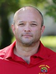 José Zuniga, an AT&T facility technician and CWA representative