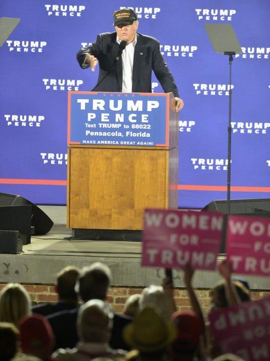 Donald Trump in Pensacola
