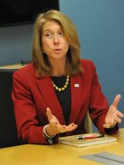 Michele Siekerka, president of the New Jersey Business