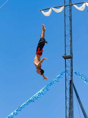 The High Diving Pirates of the Caribbean will appear at this year's Firefighters' Fair, March 10-19.