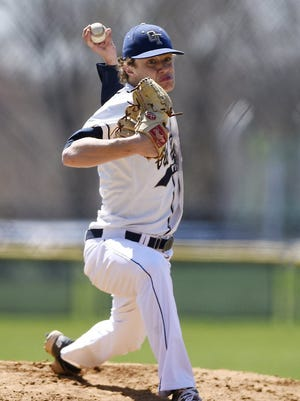 James Steindl is a hard-throwing lefty in his third season as NV/Old Tappan's ace.