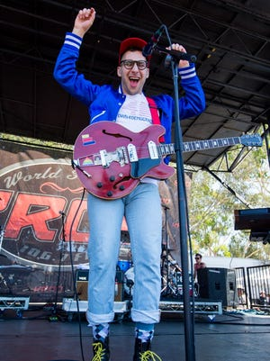 Jack Antonoff of pop act Bleachers has recently collaborated with Taylor Swift and Lorde. Bleachers plays Summerfest July 1.