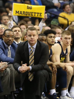 Marquette coach Steve Wojciechowski helped put together a charity exhibition game with UW-Milwaukee on Sunday.