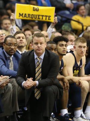 Steve Wojciechowski is entering his fourth season as head coach at Marquette.