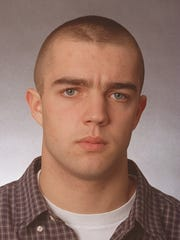 Casey Ranson, then an Immaculata senior, poses for his 1998 First-Team football All-Area photo
