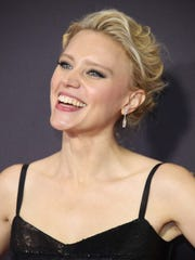 Kate McKinnon wore a big smile on the red carpet at