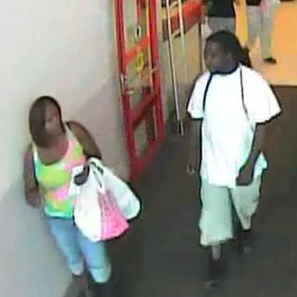 Warner Robins police said this man and woman used Target gift cards in Macon that were stolen from Warner Robins. If you recognize them, call (478) 302-5380.