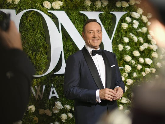 NEW YORK, NY - JUNE 11: Host Kevin Spacey attends the