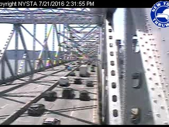Tappan Zee Bridge Traffic Crawling On I 87 In Rockland