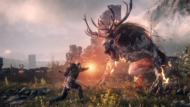 """""""The Witcher 3: Wild Hunt"""" creates an excitingly interactive world of magic."""