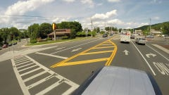 Summertime, and the driving in Rockland is not so easy