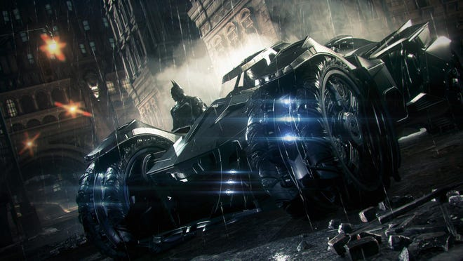 """Gotham's most famous son returns with tons of Batmobile action in """"Batman: Arkham Knight."""""""