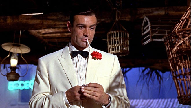 """Sean Connery stars as James Bond in """"Goldfinger."""""""