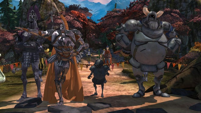 """""""King's Quest Chapter 1: A Knight to Remember"""" is an old-school adventure game that plays like a classic Disney movie combined combined with Dragon's Lair."""