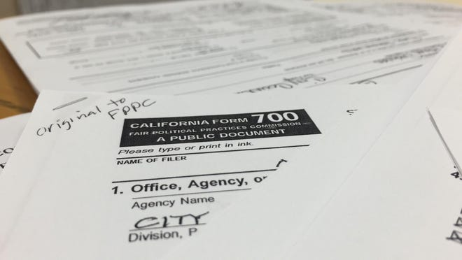 Public officials across California are required to file financial disclosure forms. A state Assemblyman wants those forms to be more specific.