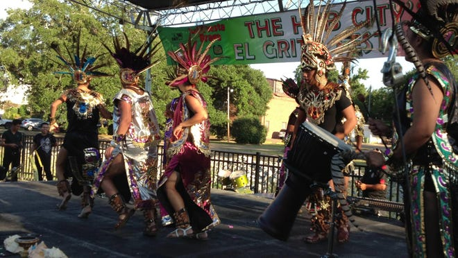 The El Grito Latin Festival returns to Town Square Park from 1-8 p.m. Saturday.