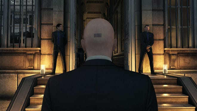 """This video game image released by Square Enix shows a scene from """"Hitman."""""""
