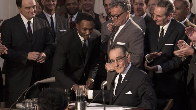 "Bryan Cranston stars as LBJ in ""All The Way."""
