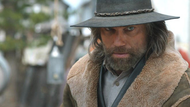 "Anson Mount stars as Cullen Bohannan, an ex-Confederate and slaveholder, in AMC's ""Hell on Wheels."""
