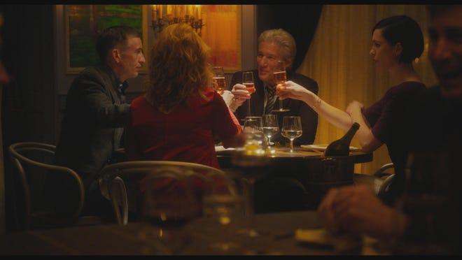 "Richard Gere, Laura Linney, Steve Coogan and Rebecca Hall star in ""The Dinner."""