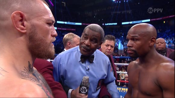 Mayweather-McGregor was so stupid it was actually kind of fun