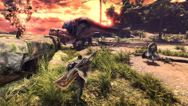 The fire-breathing Anjanath relies on speed and strength to fend off attacks.