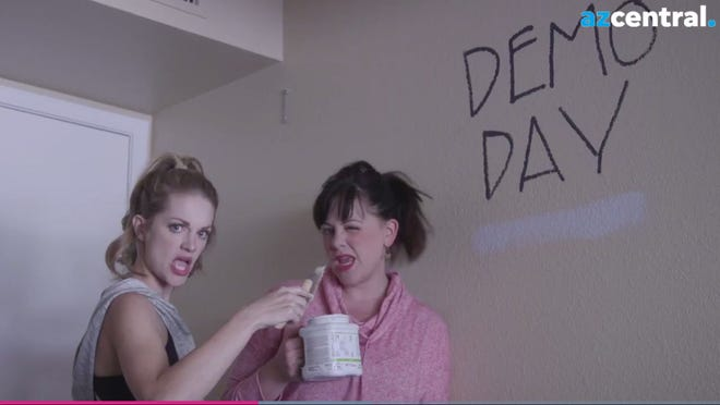 """Comedy duo, Leeann and Michelle, produced another hilarious parody video for All the Moms. This time to the tune of Taylor Swift's """"Look What You Made Me Do."""" The comedy team take on Chip and Joanna Gaine's new home decor line at Target."""