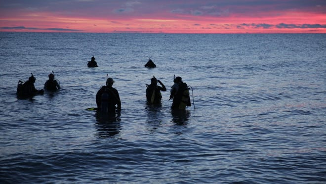 """Alpena-raised director Elizabeth Kaiser she followed women as they went scuba diving in all five great lakes on the same day in the """"Big Five Dive,"""" showing in the East Lansing Film Festival at 8:30 p.m. Friday in Wells Hall."""