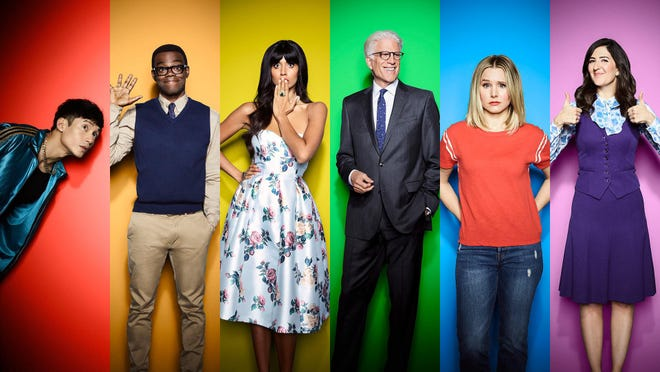 """""""The Good Place"""" wraps up its fourth and final season onNBC."""