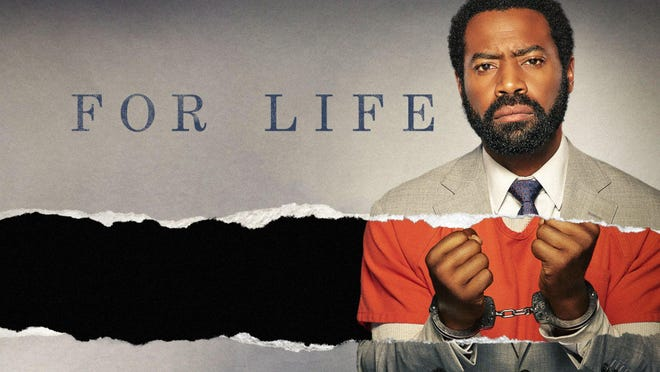 """Nicholas Pinnock stars as Aaron, a lawyer wrongfully convicted as a drug kingpin in """"For Life."""""""