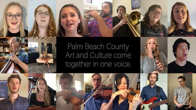 Palm Beach Symphony, Maltz Jupiter Theatre, Palm Beach Opera and Ballet Palm Beach collaborated remotely to create a video of Barry Manilow's 'One Voice'.  The video can be seen on the Cultural Council for Palm Beach County's YouTube channel.