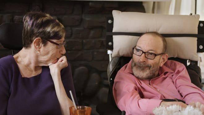 "Denise Jacobson, left, and Neil Jacobson in ""Crip Camp: A Disability Revolution."""