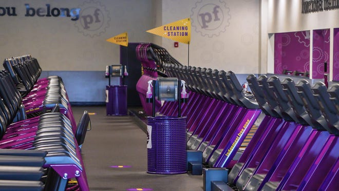 Planet Fitness will reopen its gyms at 50 percent capacity on Thursday, June 18.
