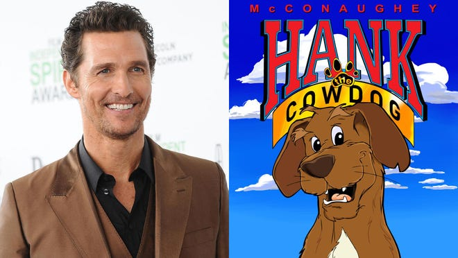 Academy Award winner Matthew McConaughey will be the voice of Hank the Cowdog when a five-episode podcast series debuts Monday, September 14. Successive episodes will be released each Monday through October 12 with Hank entangled in mysteries and amusing capers on the Texas Panhandle ranch he calls home.