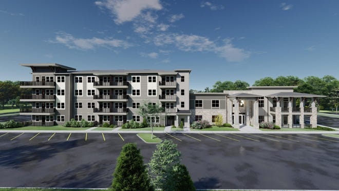 Sage Plum Creek, an apartment project for renters ages 55 and older, is scheduled to open in Kyle late next year.  The 185-unit complex will be built in the mixed-use master- planned Plum Creek development . Rents are expected to range from about $1,450 a month to $2,350 a month.