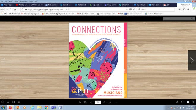 The Plymouth Philharmonic has a brand new, interactive magazine.